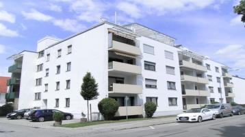 Vermietete 2-Zimmerwohnung mit Balkon u. Tiefgarage als Kapitalanlage