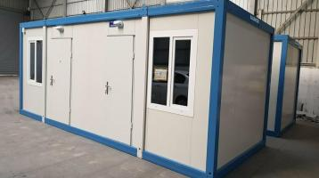 Bürocontainer 2 Zimmer getr.3x7 Meter RIESIG NEUWARE Modell B2001
