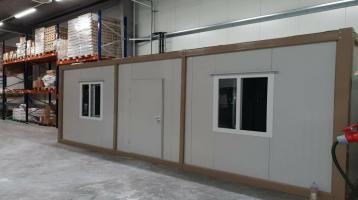 Bürocontainer 2 Zimmer, Küche 3x7 Meter RIESIG NEUWARE B3001
