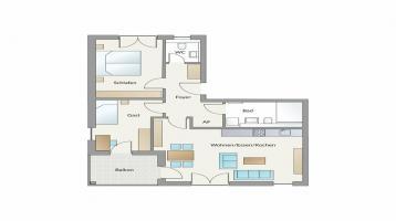 3 Zimmerwohnung mit fast 80m² in Röthenbach a. d. Pegnitz