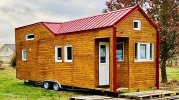 Minihaus / Tinyhouse / Gäste- / Ferienhaus (3,5 t) zzgl. Grundstück auf Wunsch