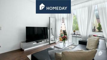 Vermietete Immobilie: Zentral gelegene 2-Zimmer-Wohnung mit Südbalkon