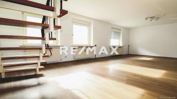 Modernisierte 3-Zimmerwohnung auf zwei Etagen mit Einbauküche