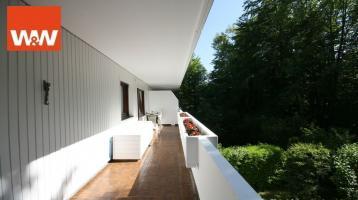 Kapitalanlage - gemütliche 3 Zimmerwohnung mit großem umlaufenden Balkon in ruhiger Lage von Grünwald