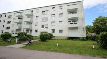 AkuRat Immobilien - Vermietete 3-Zimmer-Wohnung mit West-Loggia in Germering