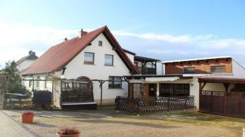 Wohnhaus mit gewerblicher Einheit und zusätzlicher Ausbaureserve in super Wohnlage von Artern