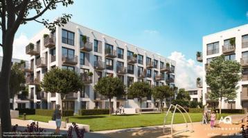 3-Zi.-Wohn. mit 2 Balkonen, Fußbodenheizung, Bad mit Wanne und sep. Duschbad
