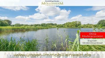 """Private Teichanlage - Das Areal """"Langenfeldsdieck"""" direkt im Holsteiner - Hügelland"""