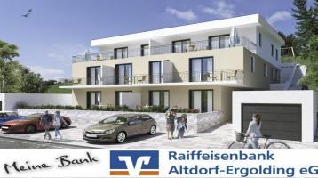 Neubau einer 3-Zi.-Erdgeschoss-Wohnung in Ergoldsbach