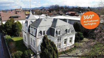 Einzigartige Immobilie! Repräsentative Altbauvilla mit Stil in Renchen