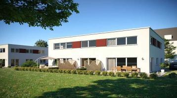 Tolles Stadthaus Neubau KfW-55 mit Süd-Garten und Terrasse