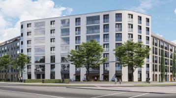 Wohnen im schönen Pasing: Moderne 2-Zi.-Wohnung mit offener Küche und Loggia