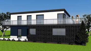 Repräsentatives Einfamilienhaus mit viel Platz für die Familie!! NEUBAUPROJEKT KfW-55 Effizienzhaus inklusive Grundstück in bevorzugter Wohnlage!!