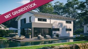 Modernes Architektenhaus - idyllisch am Wald (inkl. Grundstück & Kauf-/Baunebenkosten)