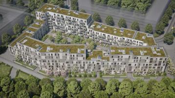 Klein aber fein: 2-Zimmer-Wohnung im EG mit Süd-Loggia - Pasing-Obermenzing