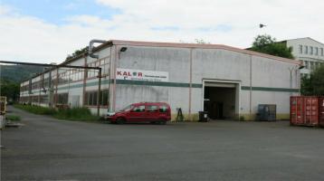 Gewerbehalle ca. 1.300 m² mit Grundstück ca. 2.800 m² - Sonneberg