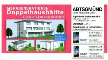 Mehrgenerationen DHH für 2 Familien mit 2 getrennten Wohnungen
