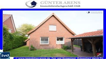 kernsaniertes Wohnhaus (BJ 2000) mit Carport im Wohngebiet Orchideenkamp in Westerstede