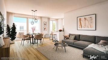 1-Zi.-Eckwohnung mit großzügigem Balkon und Tageslichtbad