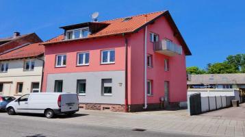 SELTENE GELEGENHEIT! Gepflegtes Zweifamilienhaus mit 2 Garagen in KA-Grötzingen