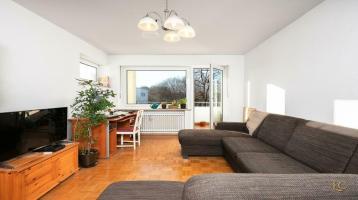 Großzügiger Schnitt & West-Balkon: Rentable Kapitalanlage in Hadern