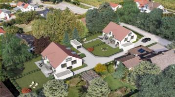 Helle Doppelhaushälfte in der Ammersseregion (projektiert)