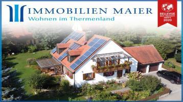 DIPL.-Immowirt+Gutachter MAIER !! Perfektes, großzügiges Einfamilienhaus+ruhige Lage+riesigen Garten