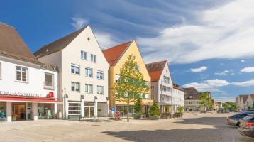 Renditestarkes Geschäftshaus in Schrobenhausen