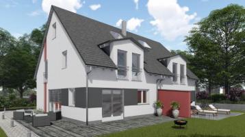 """Neubau! Unsere Doppelhaushälfte """" Family 140 SD """" in sehr ruhiger Lage in Alt-Kaufering."""