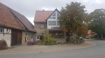 Beliebtes Gasthaus am Jakobsweg Odenwald-Main-Taubertal mit Betreiberwohnung, Biergarten, Fremdenzimmern und Partyscheune