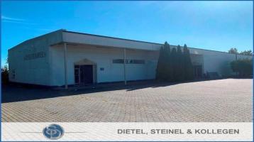 Top Gewerbehallen mit kleinem Wohnhaus - Gute Verkehrsanbindung am Stadtrand von Hof/Saale
