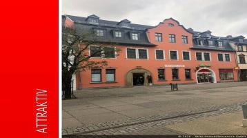 ATLAS IMMOBILIEN: Saniertes Einzeldenkmal in der Fußgängerzone von Saalfeld *vermietet*
