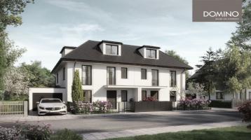DOMINO Bau: Klassische Doppelhaus-Villa in Englschalking