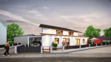 Unikat Design-DOMIZIL, edles, lichtdurchflutetes Einfamilienhaus in modernster Architektur
