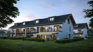 Neubau: Reihenhaus in natürlicher Holzbauweise in Wolfratshausen Farchet