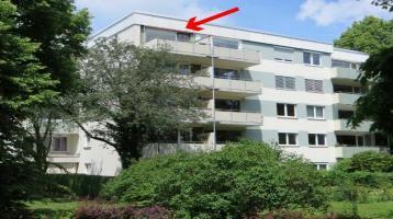 Ganz oben Wohnen mit tollem Blick - Schöne 3 Zimmerwohnung in Solln