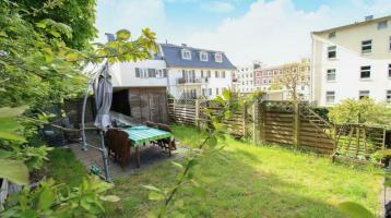 Genießen Sie die exklusive Lage auf Rügen: Stilvolle 4-Zi.-Maisonette mit eigenem Gartenanteil