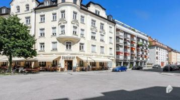 Vermietete 1,5-Zimmer-Wohnung mit Balkon in ruhiger Lage von Neuhausen-Nymphenburg