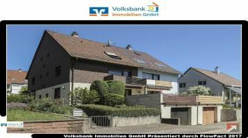 Volksbank Immobilien Ettlingen - Große Doppelhaushälfte mit Garten und Garage in Palmbach