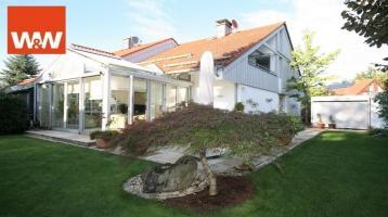 Hochwertig ausgestattete Doppelhaushälfte in begehrter Lage von Vaterstetten/Baldham