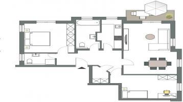 Neuangebot! - flexible Familienwohnung in grüner Wohnlage