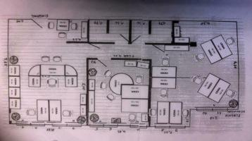ObjNr:15595 - Sehr gepflegte Büroeinheit im Zentrum von Ludwigshafen mit 2 Tiefgaragen-Stellplätzen