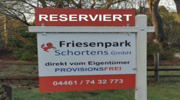 ❗️ Grundstück Doppelhaus Upjever Schortens Nordsee ❗ Reserviert ❗