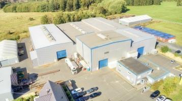 Großflächige Produktionsimmobilie mit Lagerflächen und Bürogebäude zu verkaufen!