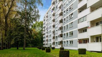 Kapitalanleger aufgepasst! Solide vermietete 1-Zimmer-Wohnung mit Blick ins Grüne