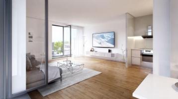 Helle 3-Zimmer-Wohnung | 2 Bäder, Balkon & Loggia | NEU vis-à-vis Schloßpark Nymphenburg