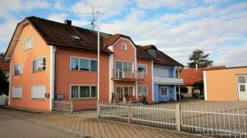 Kapitalanlage im Gäuboden - Mehrfamilienhaus mit Werkstatt/Halle