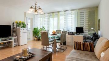 Zentral gelegene 2-Zimmer-Wohnung mit EBK, Balkon und Erbbaurecht im beliebten Unterschleißheim
