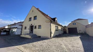 2 Einfamilienhäuser mit vermieteter Gewerbeeinheit, Garage und KFZ-Stellplatz