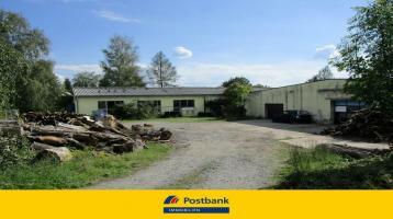Zwei große Lagerhallen für Gewerbe in zentraler Lage von Sonneberg